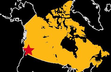 図:バンクーバーの地図