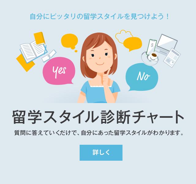 留学スタイル診断チャート