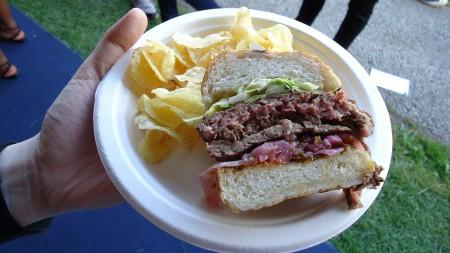 Richimond station's burger
