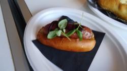 Wagyu hotdog