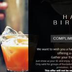 トロントで誕生日をお得に過ごす方法!