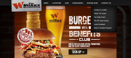 The WORKS Burgers WIth Benefits