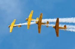 Canadian Harvard Aerobatic Team (1)