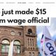 2018年から最低時給が$14ドルに!