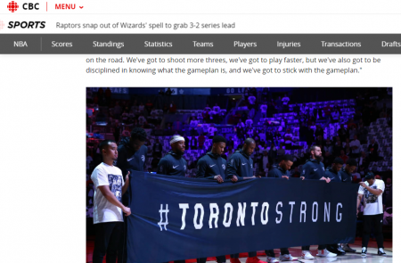 Raptors snap out of Wizards spell to grab 3 2 series lead CBC Sports