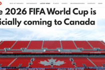 The 2026 FIFA World Cup is officially coming to Canada