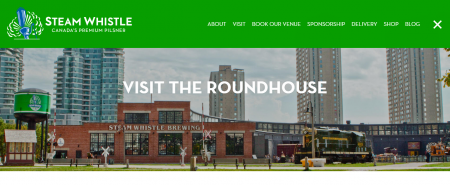 Visit The Roundhouse Steam Whistle Brewing
